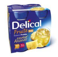 Delical Boisson Fruitee Nutriment Ananas 4bouteilles/200ml à Muret