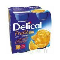 Delical Boisson Fruitee Nutriment Orange 4bouteilles/200ml à Muret