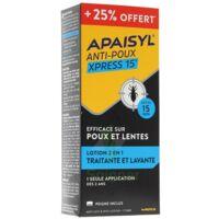 Apaisyl Anti-poux Xpress 15' 250ml _ 25% Offert à Muret