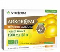 Arkoroyal Gelée Royale Bio 1500 Mg Solution Buvable 20 Ampoules/10ml à Muret