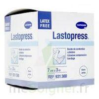 Lastopress® Bande De Compression Cohésive 7 Cm X 3 Mètres - Coloris Blanc à Muret