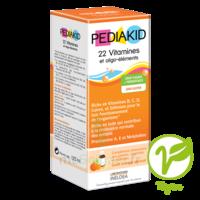 Pédiakid 22 Vitamines Et Oligo-eléments Sirop Abricot Orange 125ml à Muret