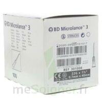 Bd Microlance 3, G22 1 1/2, 0,7 M X 40 Mm, Noir  à Muret