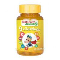 Acheter Nat&Form Junior Ours Gomme oursons 9 Vitamines B/60 à Muret