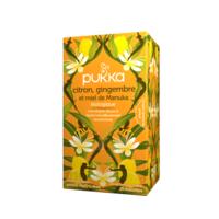 Pukka Bio Citron, Gingembre Et Miel De Manuka Tisane Immunité Citron Gingembre Miel De Manuka 20 Sachets à Muret